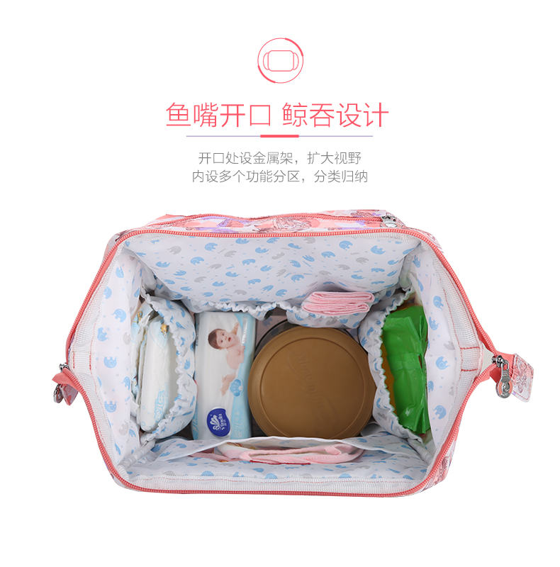 快乐象家庭——安全防护亲子背包系列