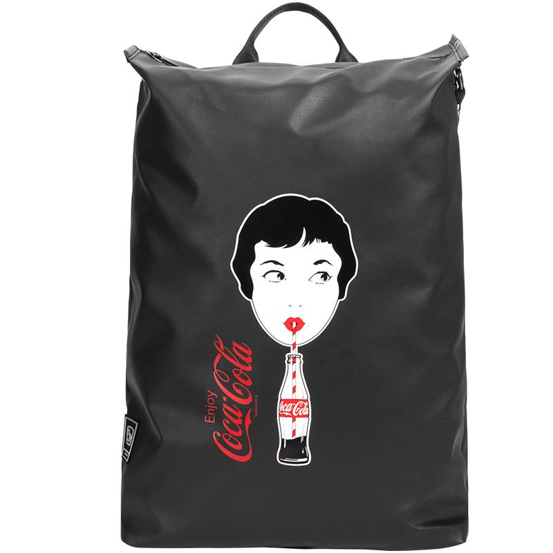 爱华仕跨界可乐联名合作款双肩包