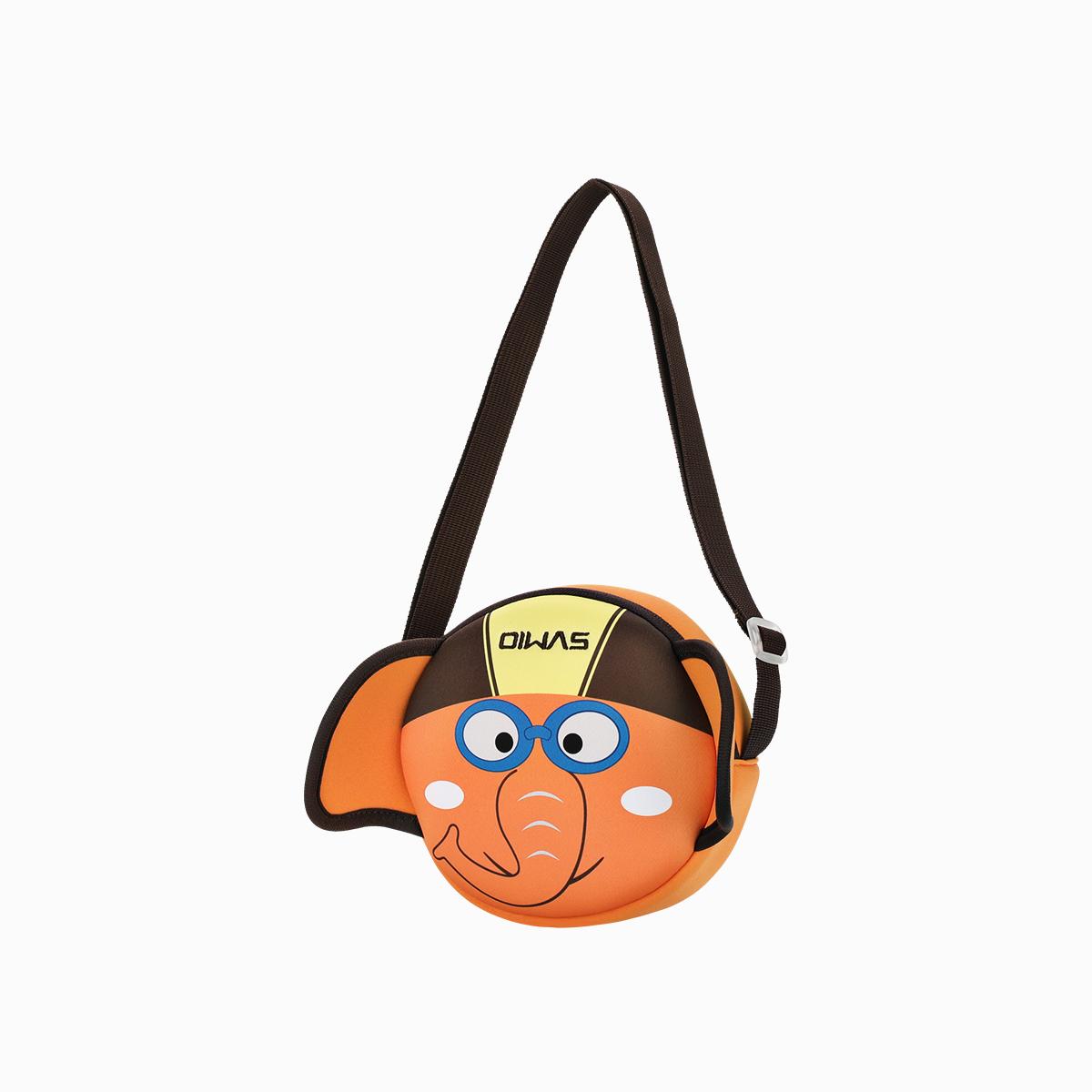 爱华仕3D小象系列胸包