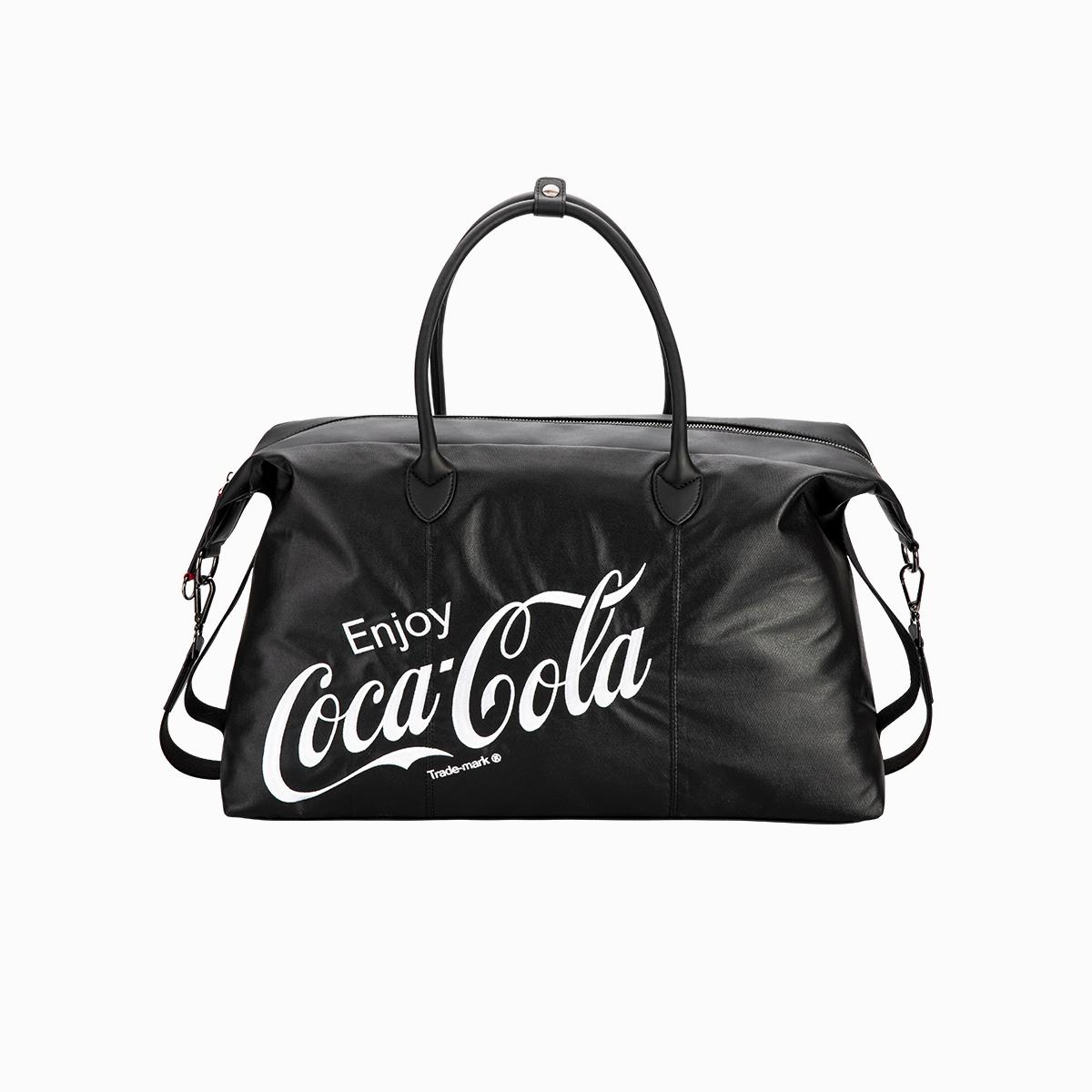 爱华仕可口可乐联名行李袋大容量手提包
